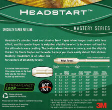 Scientific Anglers Mastery Series Headstart Fly Line