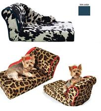 DOG BED CHAISE LOUNGE SMALL DOG PET LOUNGER COUCH USA MADE PET FLYS LUXURY