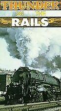 Thunder on the Rails:  Trains of the Old West [VHS]  VHS Tape
