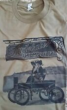 Men's White Green 1902 Electric Studebaker Runabout Graphic TShirt L XL 2XL TEE