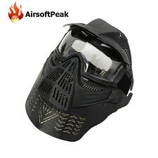 Mask Full Face Military Paintball Tactical Airsoft Face Protector Masks War Game