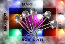 100x 5mm LED Strawhat very bright LEDs Resistor 5mm