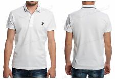 Men's Medusa Versace Polo T-shirt Top Short Sleeve White Color S M L XL XXL