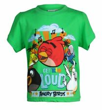 Boys Angry Birds t shirt Age 5/12Years Get Rio Loud New Top  Short Sleeve Kids