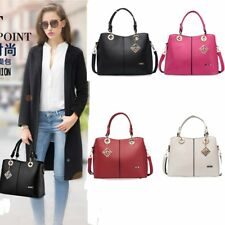 Fashion Women PU Handbag Shoulder Bag Tote Purse Handbag Messenger Bag Satchel