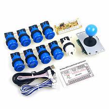9 x Arcade Buttons Happ + 8 Way Arcade Joystick + PC Game Encoder To MAME Game