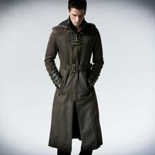 Punk Rave Steampunk Undertaker Trench Coat [Special Order] - Gothic,Goth,Bronze,