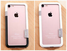 New Colorful Silicon Frame Black White Soft Case For iPhone 6/6S/7 Plus *A*