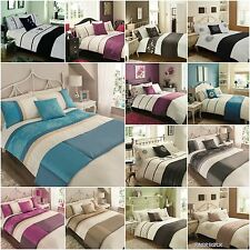 5 Piece Bed In a Bag Duvet/Quilt Cover Bedding Set Stylish Embroidered Gift Idea