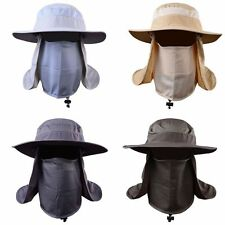 Outdoor Hiking Fishing Hat Sport Sun Protection Neck Face Flap Cap Wide Brim New