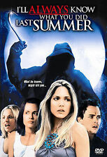 I'll Always Know What You Did Last Summer (DVD, 2006) HORROR / Rated R / 91 Mins