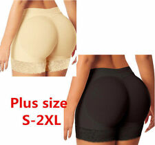 Lady Buttock Silicone Padded Underwear Bum Butt Lift HIP UP Enhancer Pantie