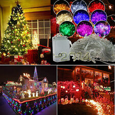 100/200/300/400/600 LED String Fairy Lights Indoor/Outdoor Xmas Christmas Party