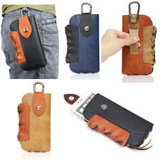 Brand New PU Leather Purse Wallet Card Mobile Phone Pouch Pocket For 4.7-5.5Inch