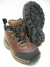 Timberland Leather Hiking Trail Fashion Boots Shoes Brown Boys Girls Toddler 5