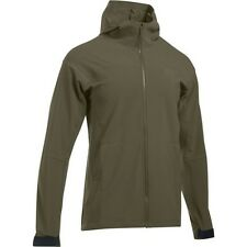 Under Armour 1279626 Men's OD Green Tactical Softshell 3.0 Jacket - Size Small