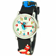 Fashion Watches Dinosaur Kid Watch 3D Silicone Strap Children Cartoon Wristwatch