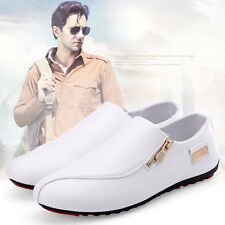 Fashion England Mens Breathable Sneakers White Recreational Casual Shoes UK Size