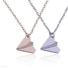 Necklace One Direction Band Harry Styles Fashion Paper Airplane Men Pendant