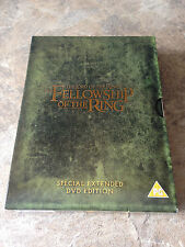 THE LORD OF THE RINGS – THE FELLOWSHIP. SPECIAL EXTENDED EDITION. 4 DVD SET. REG