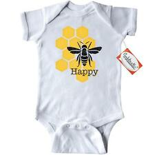 Inktastic Honeycomb Bee Happy Infant Creeper Be Bumble Honey Pinkinkartkids Fun