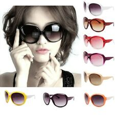 Retro Fashion Womens Vintage Shades Big Oversized Designer Sunglasses Eyewear