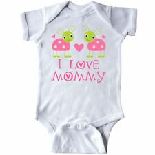 Inktastic I Love Mommy 1st Mothers Day Ladybug Infant Creeper Babys Pink Cute