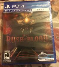 Until Dawn: Rush of Blood (Sony PlayStation 4, 2016) Brand New Sealed