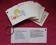 """AKC Rally Obedience Practice Flash Cards (3"""" x 3.5"""") - 69 cards"""