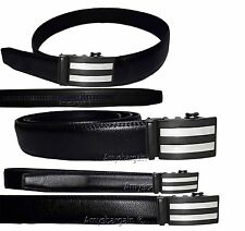 Men's Belt. Leather Dress Belt, Auto Lock belt, Men's Black Quick lock New belt