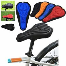 New Cycling Bike Bicycle MTB Silicone Gel Cushion Soft Pad Saddle Seat Cover SU