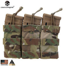Emerson Tactical Modular Triple Magazine Pouch Hunting MAG Pouch CORDURA EM6355
