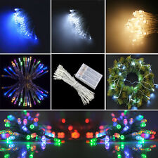 20/40 Led Battery Fairy String Light Hanging Indoor Christmas Halloween New Year