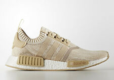 NEW Adidas Originals NMD R1 PK Primeknit Linen Khaki Off White Tan Sand BY1912