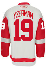 Steve Yzerman Detroit Red Wings Reebok Premier Away Jersey NHL Replica