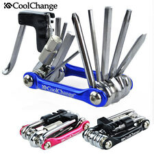 Multifunction Bicycle Tools 11in1 Chain Rivet Extractor Cycling Repair Kit Set