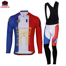 France cycling jersey ciclismo Spring cycling clothing bike maillot ciclismo Set