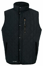 Trespass Forsyth Men's Quilted Gilet - Black - Size Small - Box6145 B