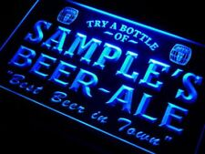 Personalized bar sign Custom name beer man cave decor