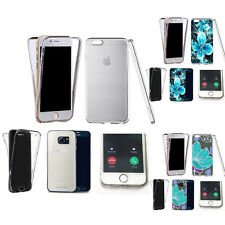 360° Silicone gel shockproof case cover for most mobiles -design ref zq215 clear