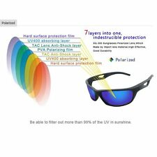 UV400 Polarized REVO Lens Flexible Superlight Cycling Sports Sunglasses EW