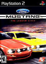 Ford Mustang: The Legend Lives - PS2 Playstation 2 Game (Disc Only)