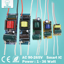 1-36W LED Driver Input AC90-265V Power Supply Constant Current 300mA for Lamps