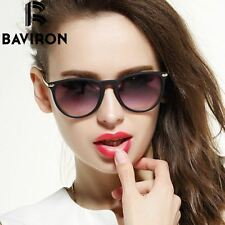 BAVIRON Scrub Frame Sunglasses Women Lightweight Mirrored Glasses Cat Eye Colorf