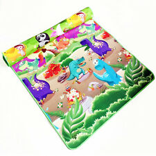 Mat Play Double Baby Sides Activity Kid Toddler Rug Floor Crawl 8m Picnic Side