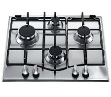 Hotpoint 60cm Gas 4 Burners hob Stainless Steel GC640IX