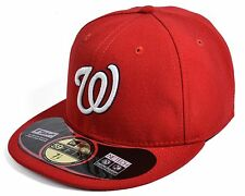 New Era Washington Nationals 59Fifty MLB Authentic Game Fitted(AUTH WASNAT GAME)