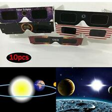 Solar Eclipse Glasses 2017 Galaxy Edition (10 Pack) CE and ISO Standard Viewing…