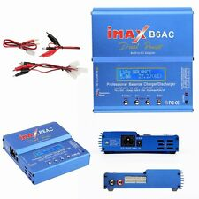80W iMAX B6-AC B6AC Lipo NiMH 3S RC Battery Balance Digital Charger/Discharger W