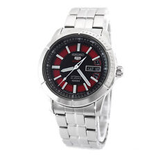 Seiko 5 Sports Mens Analog Watch Casual Silver Band SRP339J1 SRP345J1 SRP343J1